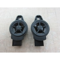 2017 Nissan Note Tekna 1.5 E12 A Pillar Tweeter Speakers (Pair)