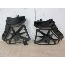 2014 Renault Scenic MK3 Rear Bumper Bracket Support Guides (Pair)