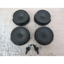2017 Hyundai ix20 JC Door Speakers & Pillar Tweeters (Set of 6)