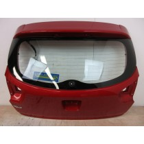 2014 Kia Rio MK3 1.2 Tailgate Boot Lid - 5DR - Red BEG