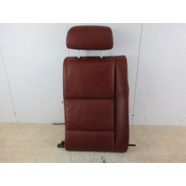 BMW M5 5 Series E60 Red Drivers Offside Right Rear Seat Back